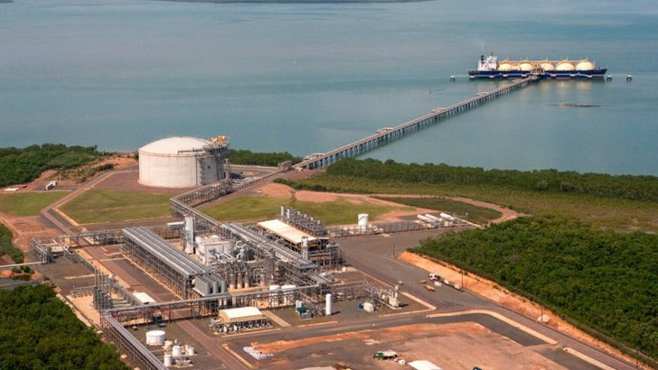 The Darwin LNG Plant. Picture: Supplied