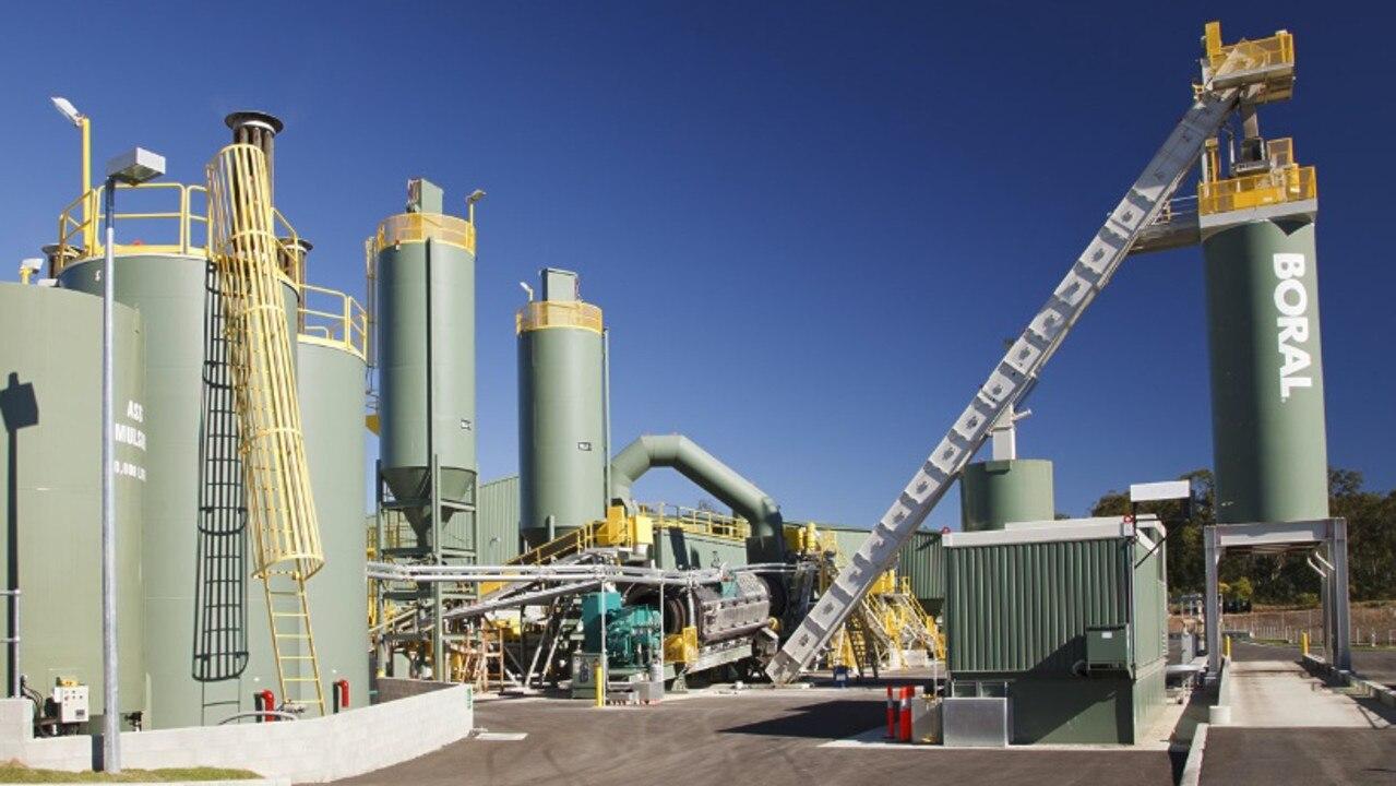 Boral Asphalt Plant in Alstonville