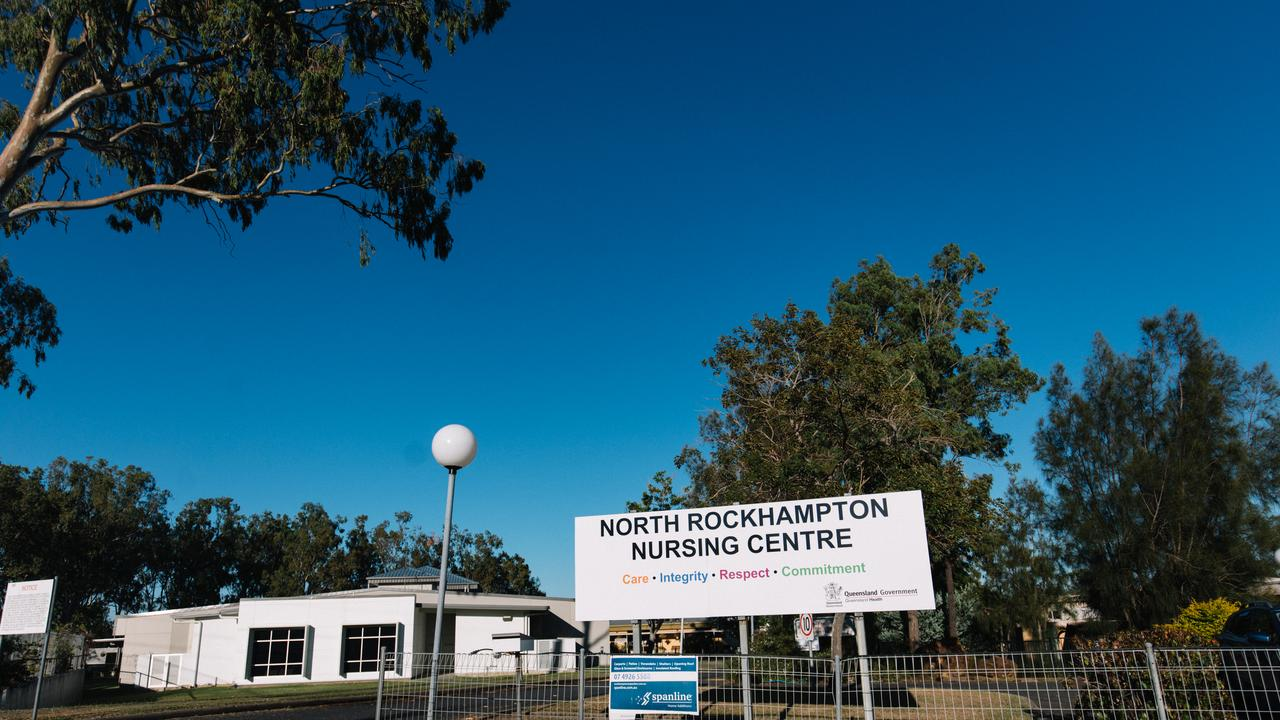 The North Rockhampton Nursing Centre in Rockhampton which went into lockdown after a nurse at the facility tested positive for coronavirus. (AAP Image/Levi Appleton)