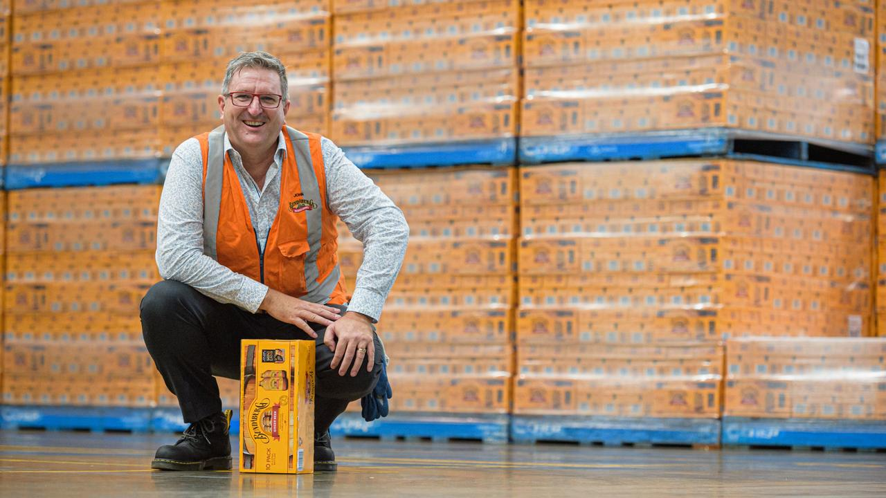 Bundaberg Brewed Drinks chief executive officer John McLean.