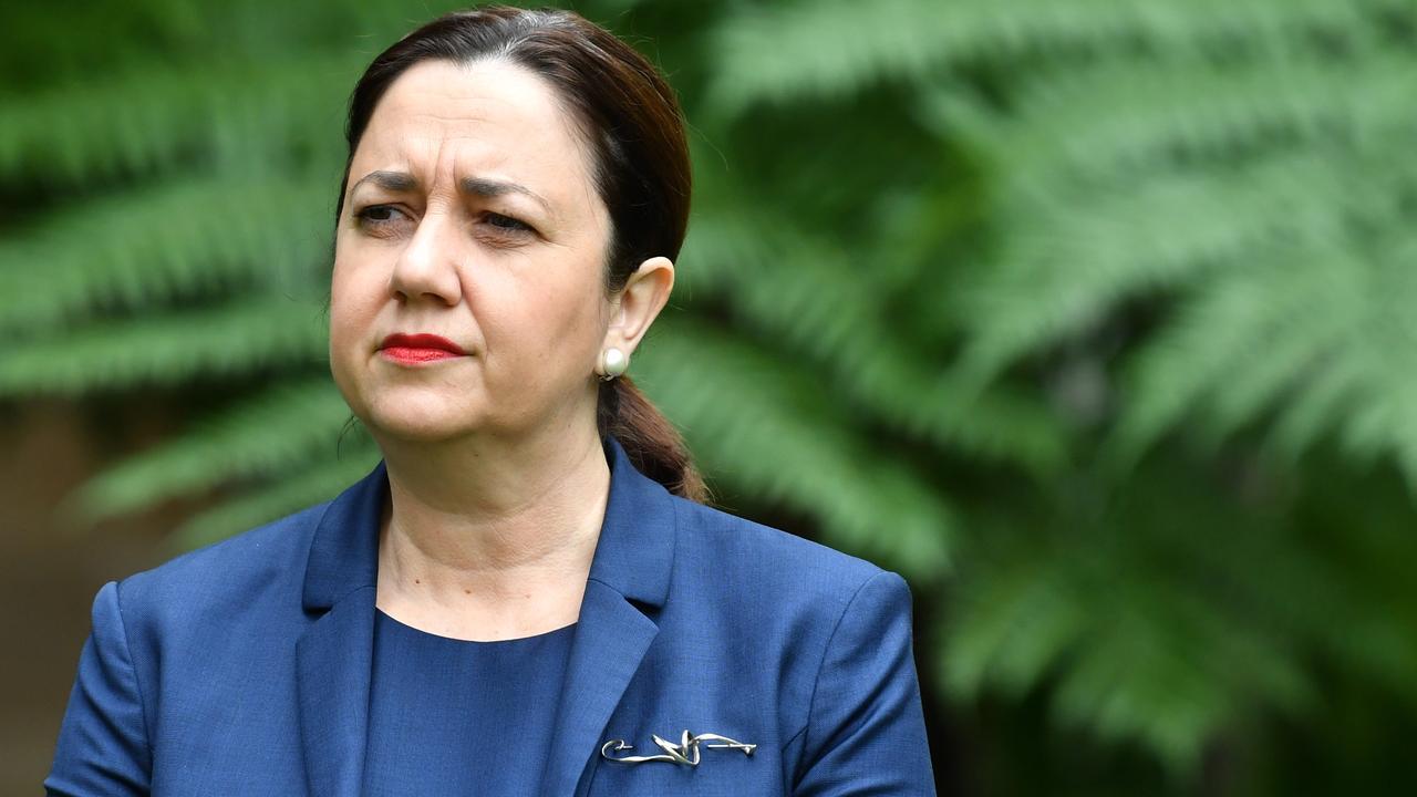 Queensland Premier Annastacia Palaszczuk has attracted criticism for the border closure.