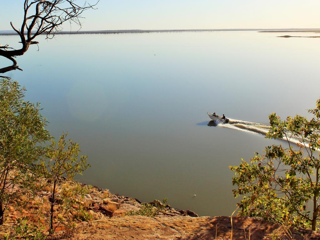 UPGRADE: The recreation area at Lake Maraboon will be revitalised.Photo Genevieve Dunbabin