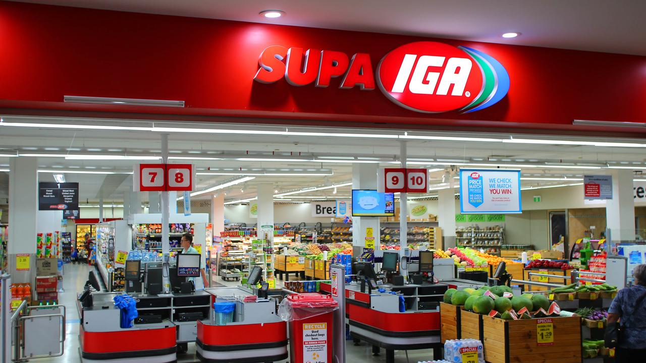 A IGA store manager said sneaky shoppers were easy to spot.