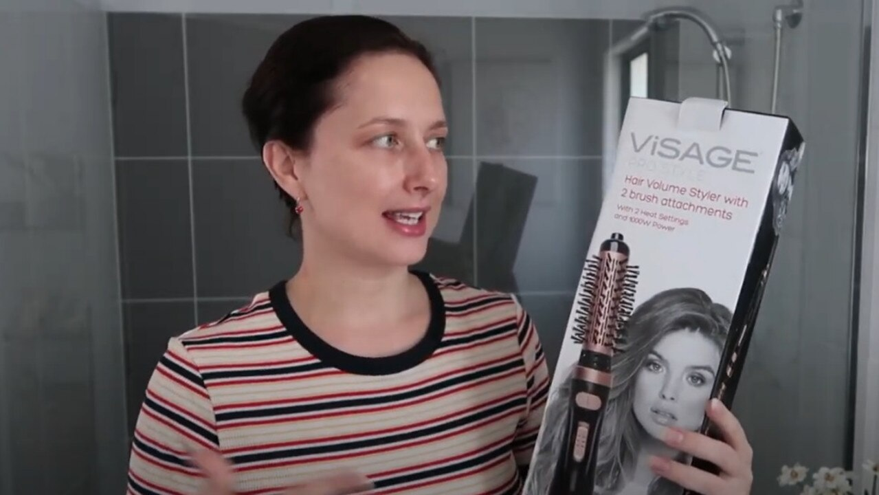One woman trialled the bargain $25 product to rave reviews. Picture: YouTube