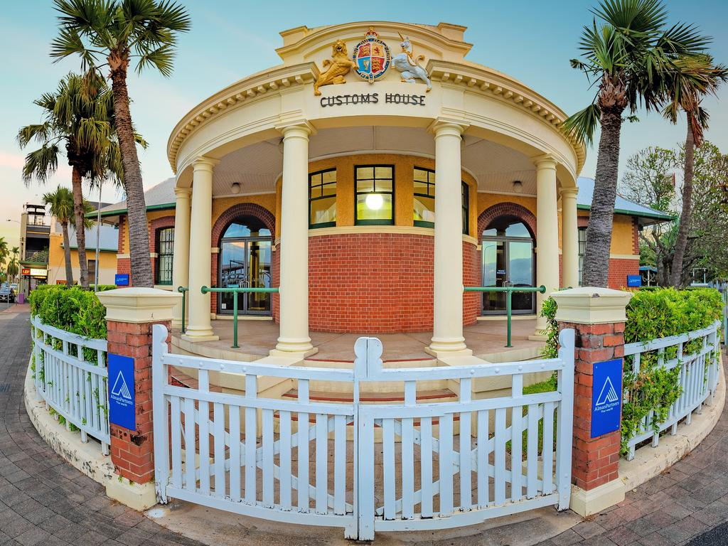 The Customs House at the corner of River and Sydney streets, Mackay. Picture: Mark Fitz