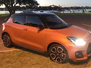 Extra fuel on the Suzuki Swift Sport fire