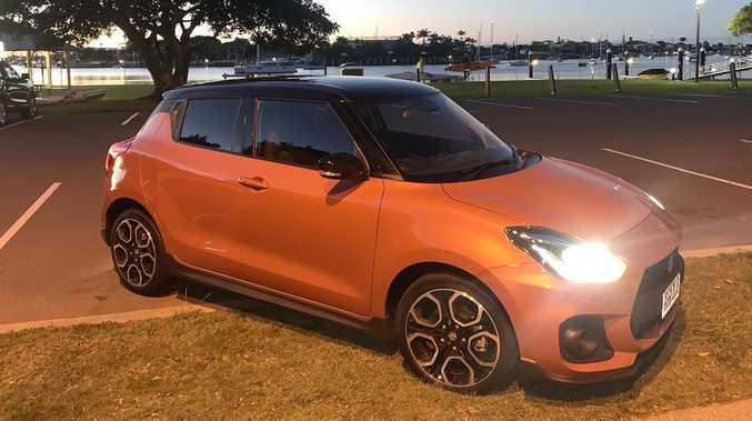 Extra fuel on the Suzuki Swift Sport fire