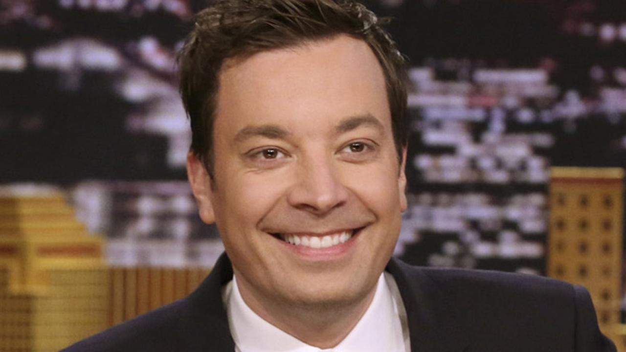 A resurfaced SNL skit from 2000 featuring Jimmy Fallon impersonating Chris Rock has landed the host in hot water. Picture: Andrew Lipovsky/NBC via AP