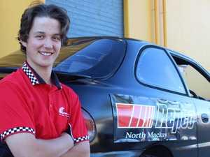 Teenage racer builds new car for season comeback