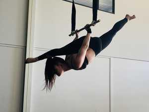 Childhood fantasy on hold for Nanango aerial dancer