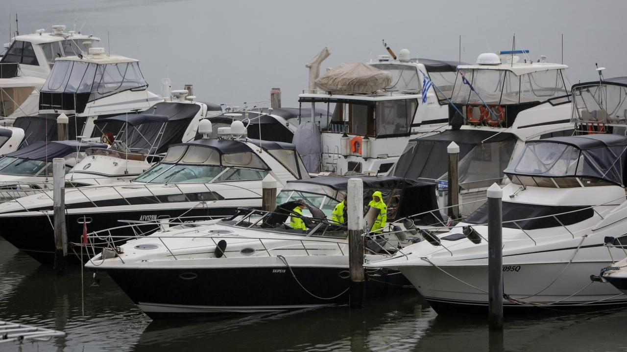 A teenager has suffered sever burns to his face and body after the boat he was fishing in with two friends exploded, sending plumes of smoke into the air.