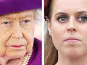 Beatrice's heavy wedding blow for Queen