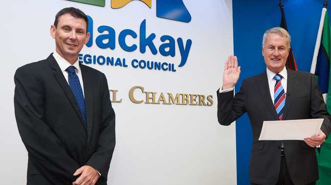 Mackay Council CEO steps down from top job
