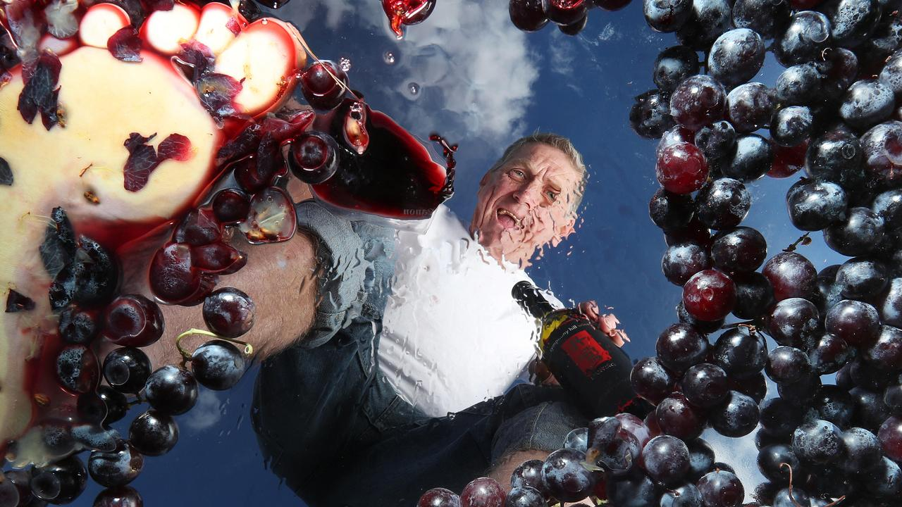Queensland Wine Industry Association president Mike Hayes.