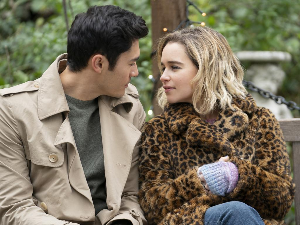 Emilia Clarke and Henry Golding from