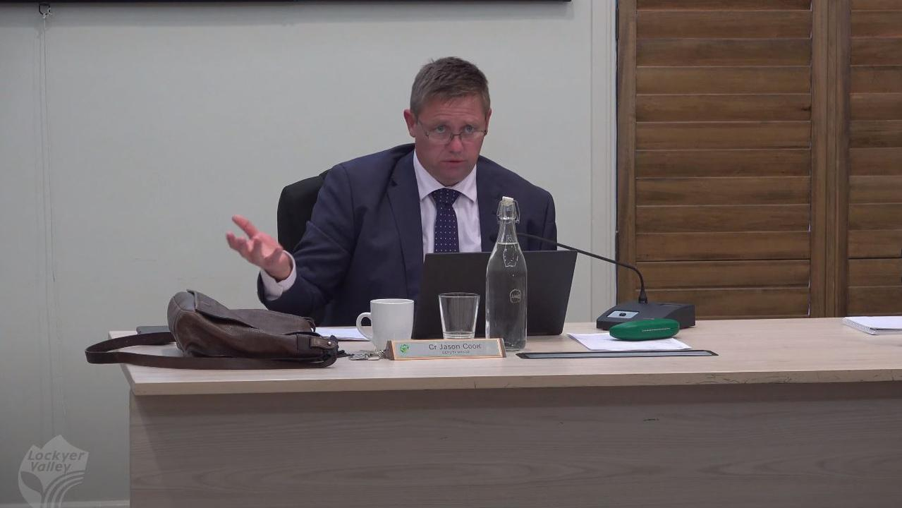 WORRIED: Lockyer Valley Regional Council deputy mayor Jason Cook voiced concerns about the restrictive conditions applied to the application. Photo: Contributed