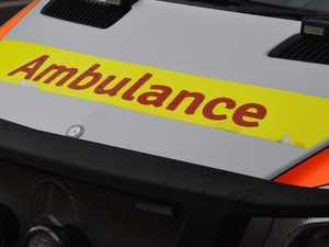 Man in hospital after crash on Bruce Highway