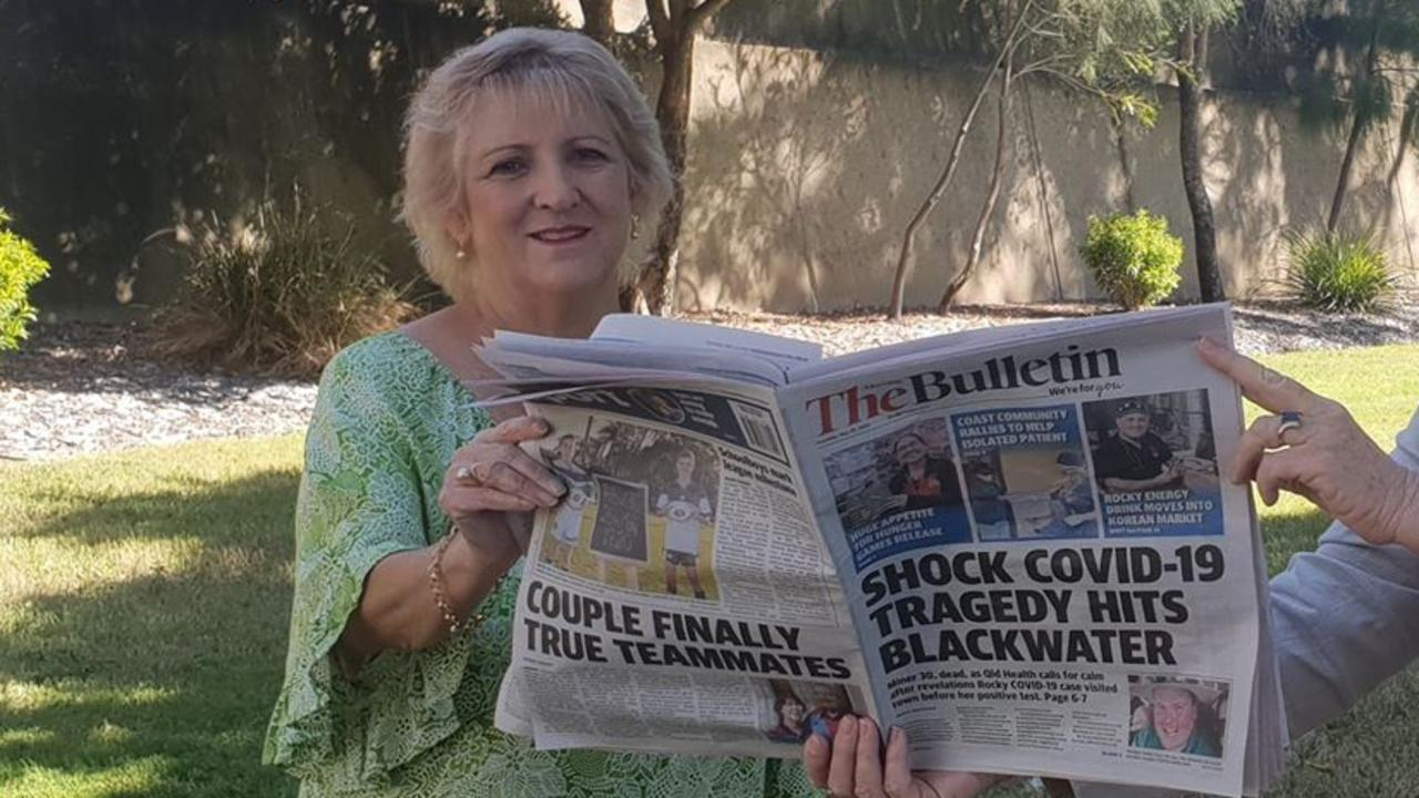 Capricornia MP Michelle Landry appreciates the role of The Morning Bulletin newspaper plays in keeping locals informed.