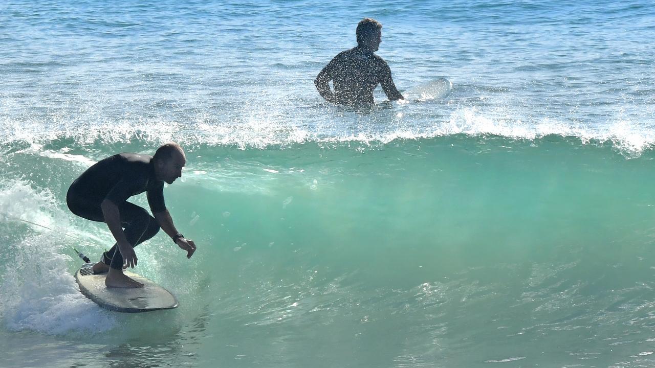Wave of the day at Alexandra Headland. Photo: John McCutcheon / Sunshine Coast Daily