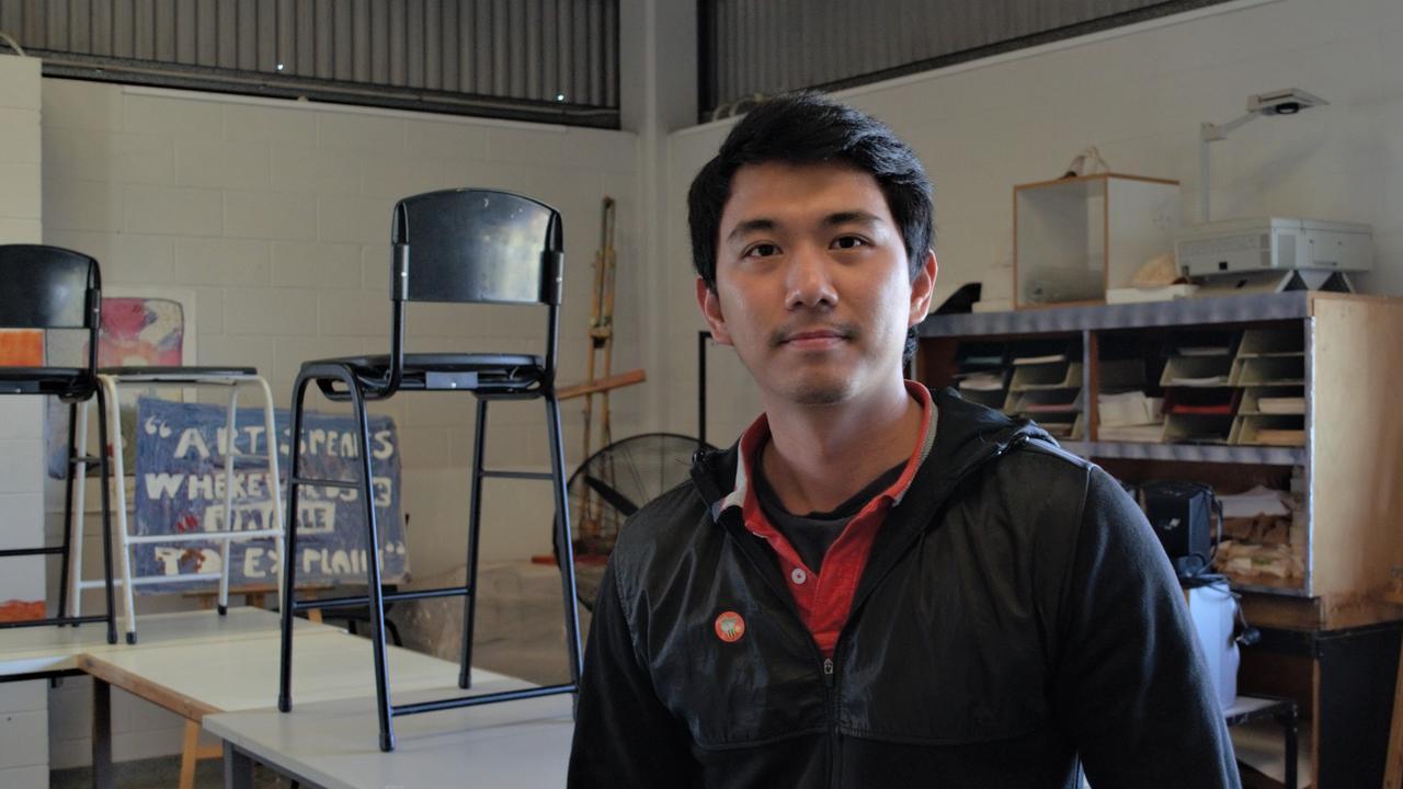 Mandarin, art and PE teacher, Lizhe Leong