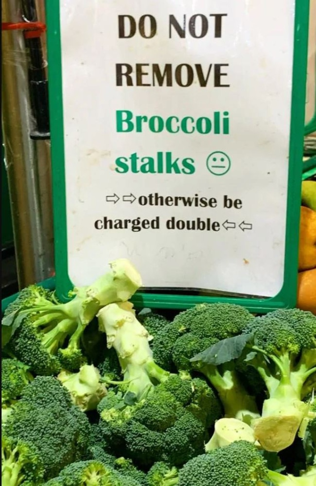 One green grocer introduced a bold way of stopping people doing this sneaky trick.