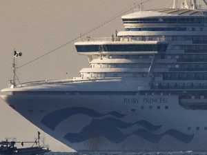 Shock new Ruby Princess health scare