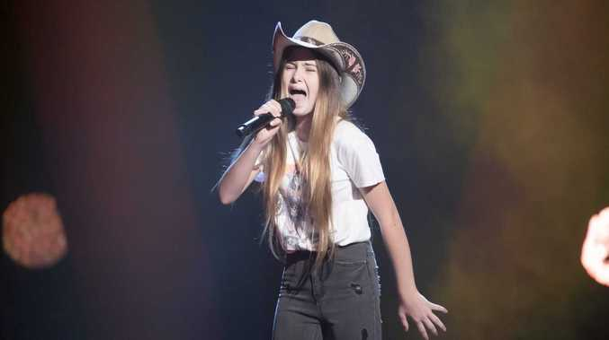 Young singer's record-breaking performance on The Voice