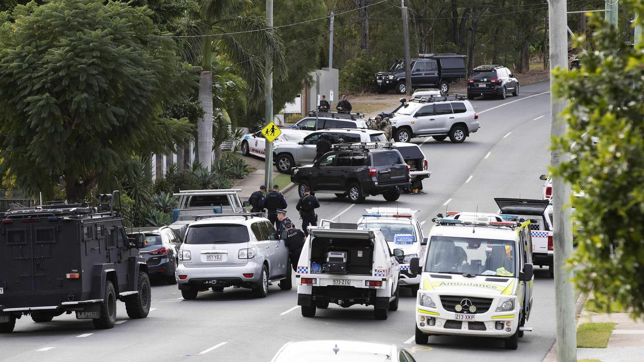 Emergency services at the scene. Picture: News Corp/Attila Csaszar