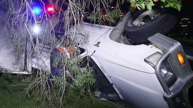 Police investigating Toormina rollover crash