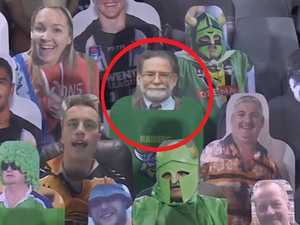 NRL's cardboard fans take dark turn
