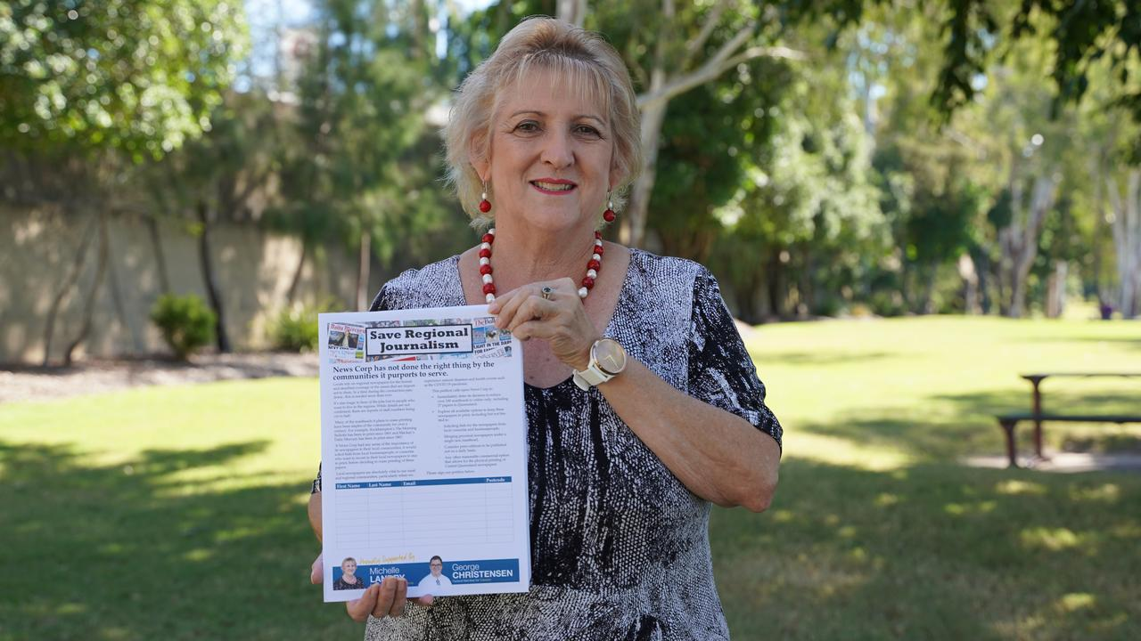 POLITICAL SUPPORT: Capricornia MP Michelle Landry's petition to Save Regional Newspapers has received unanimous support from all sides of politics seeking to ensure CQ had a locally produced newspaper.