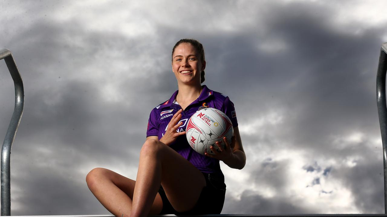 Firebirds defender Kim Jenner is ready to make her mark when the Super Netball season commences. Pics Adam Head