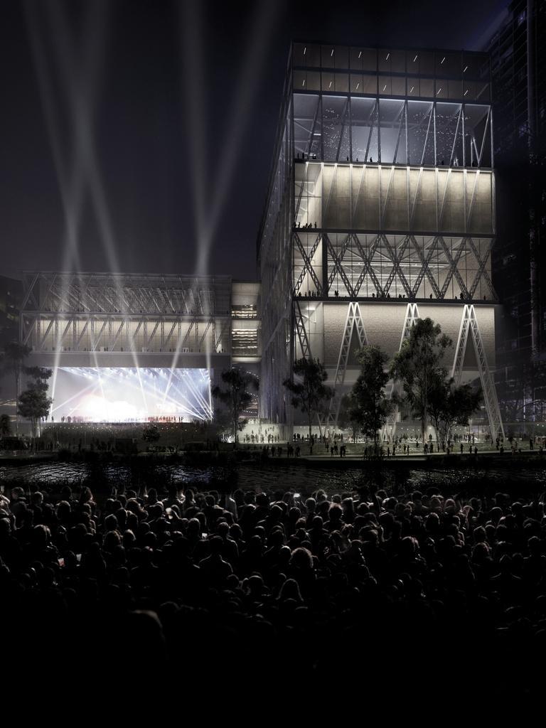 The design for Powerhouse Parramatta. Picture: Supplied