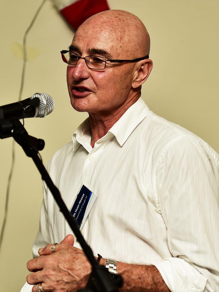 NT Chief Health Officer Dr Hugh Heggie