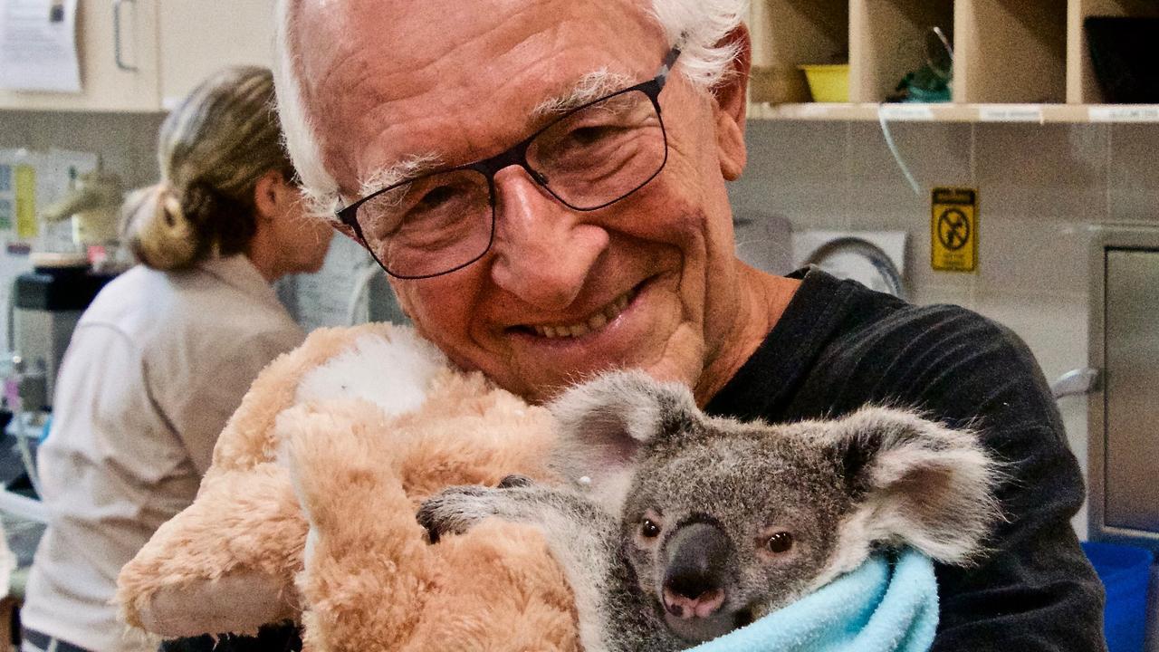 Noosa koala crusader Bernard Jean.