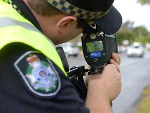 Footage captures Qld's worst speeders in dice with death