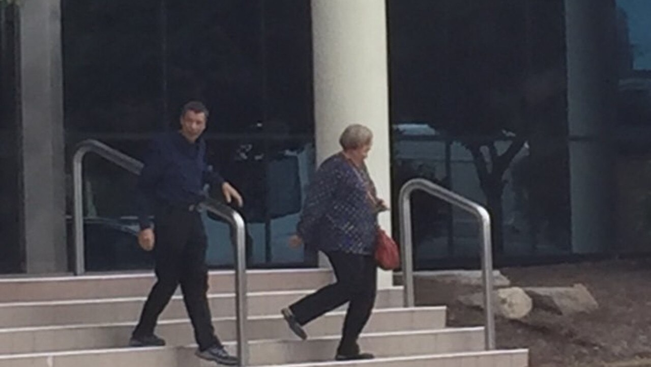 Police found 86,000 pornographic videos of children when they raided Andrew Grant Karsten's (left) Landsborough home.