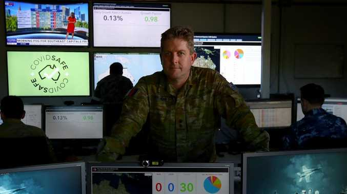 Australian military's new war room to face any enemy