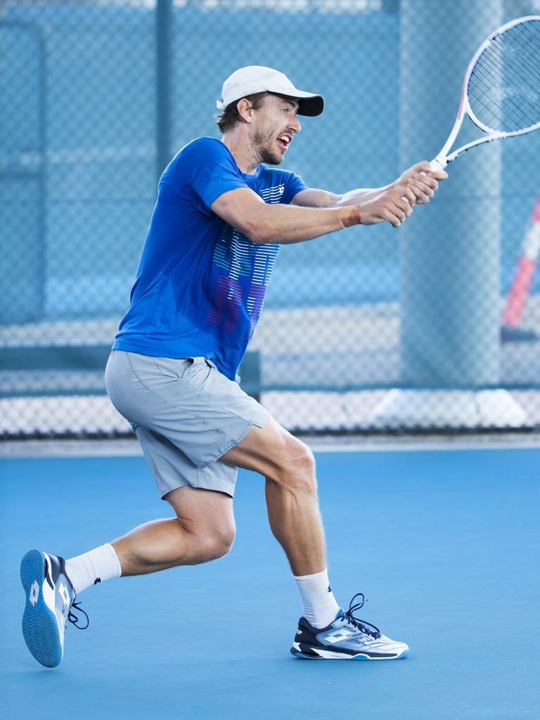 Queensland Tennis Star John Millman Photo Lachie Millard