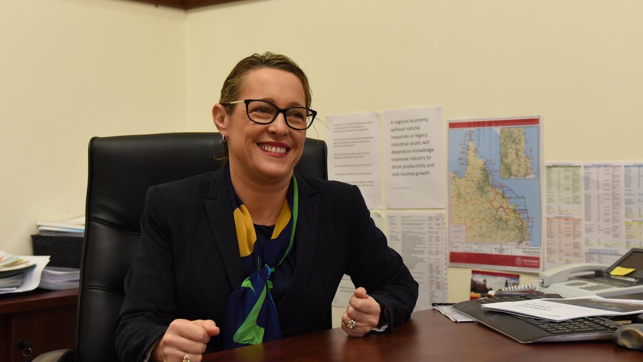 North Burnett Regional Council Mayor Rachel Chambers. Picture: Alex Treacy