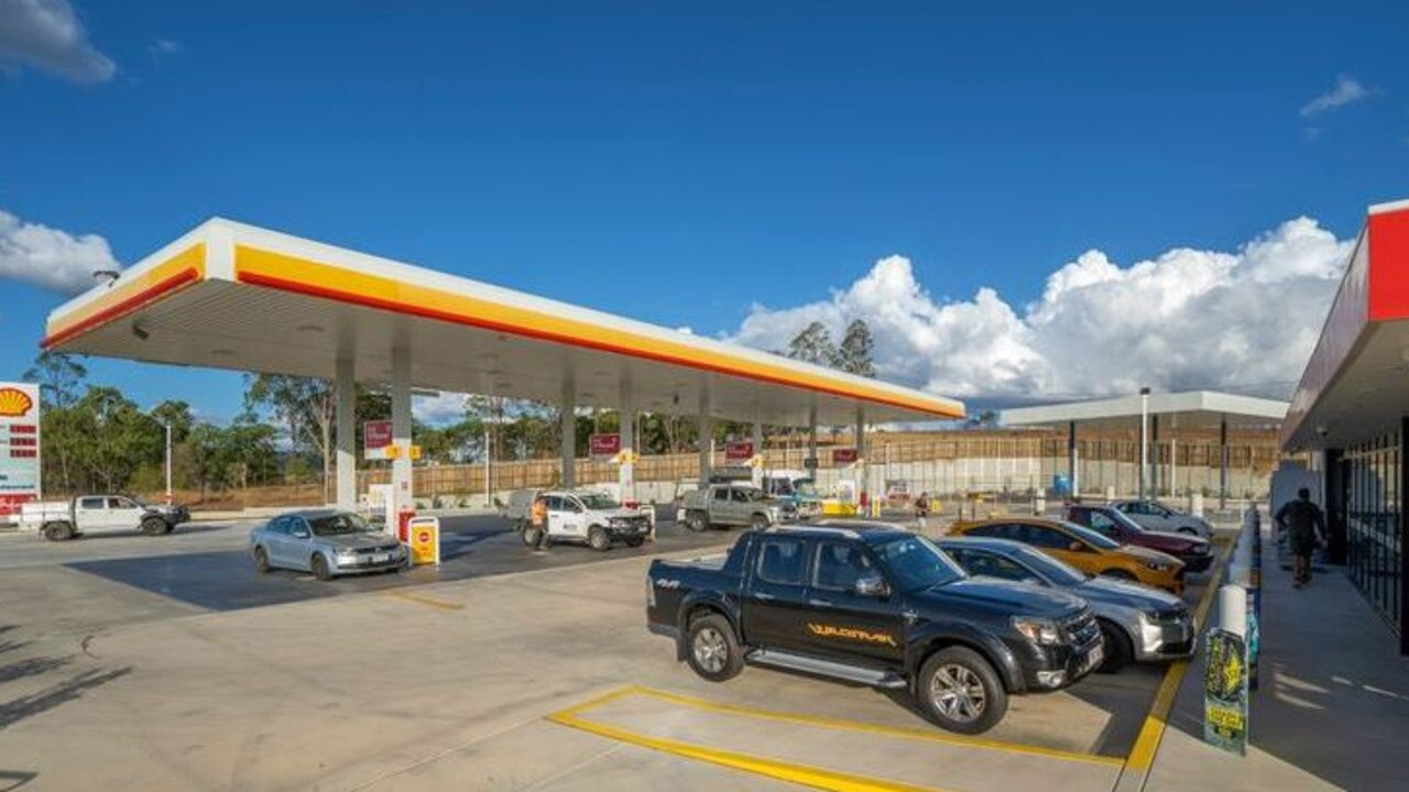 FOR SALE: The Shell service station on the Warrego Highway at Hatton Vale will go under the hammer this month.
