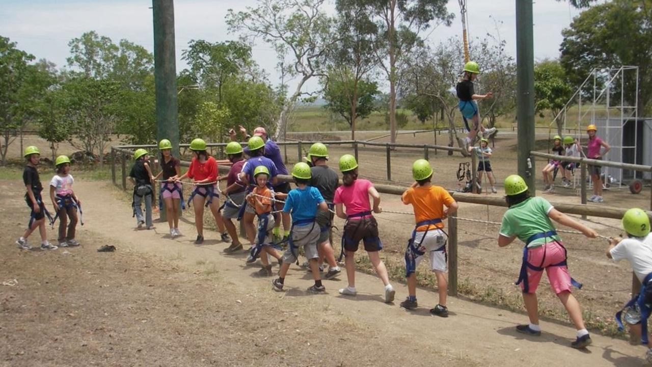Kinchant Outdoor Education Centre Principal Zach Roberts says the centre's curriculum is designed to develop skill sets that enhance the outcomes of teamwork. Do you remember having to work together to solve the many obstacles while on an excursion at the centre? Picture: Contributed.