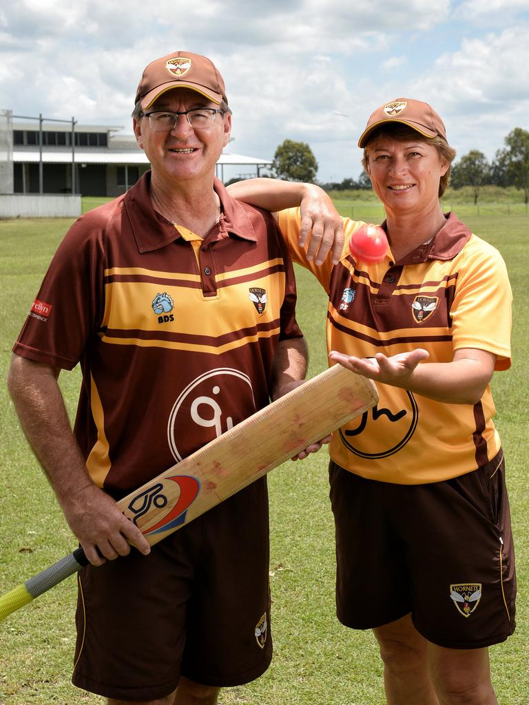 Wayne and Leanne Bichel have developed a fine women's cricket program at the Ipswich Logan Hornets.
