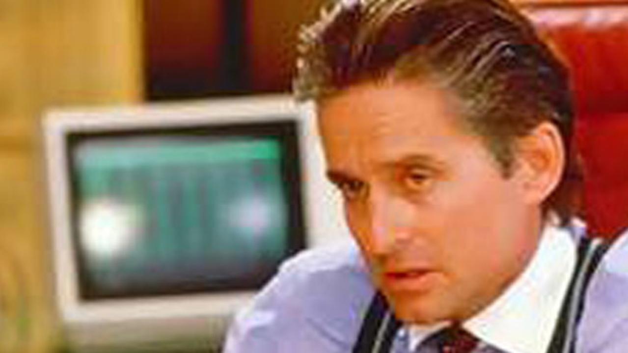 Michael Douglas stars as Gordon Gekko in 1987 classic Wall Street