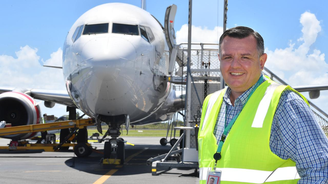 Mackay Airport general manager Garry Porter. Picture: Tony Martin