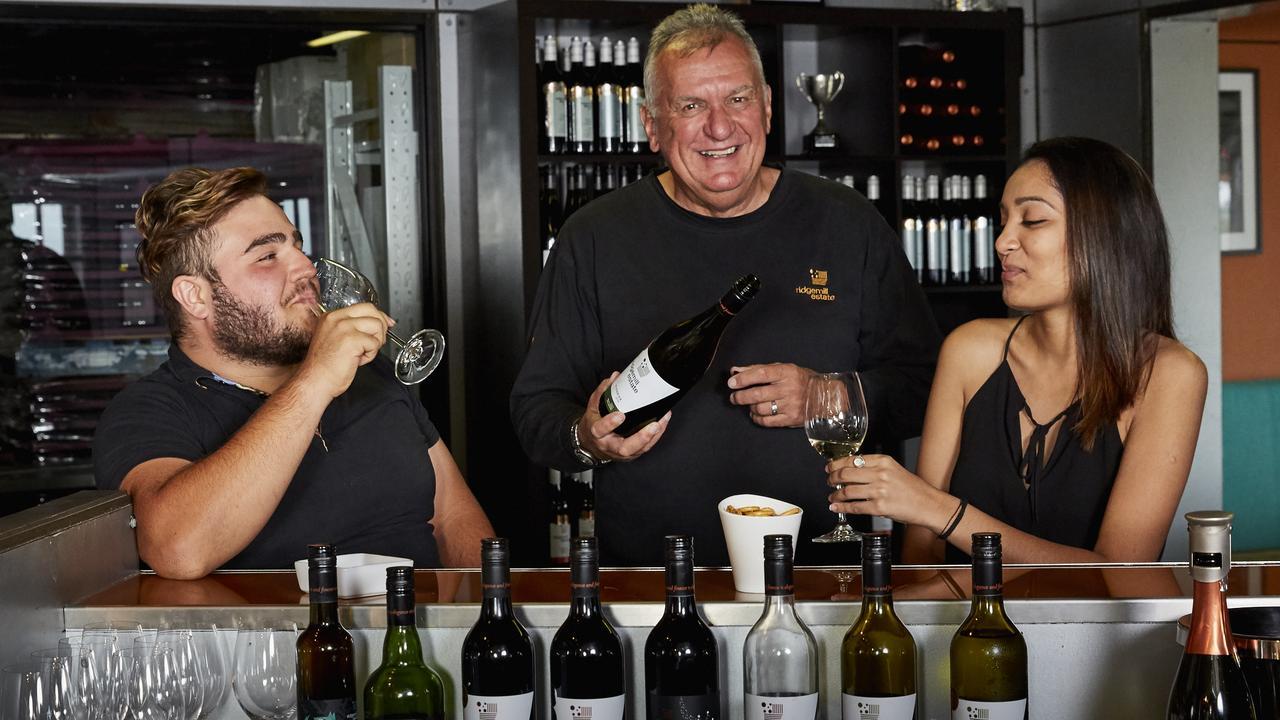 Ridgemill Estate owner and Granite Belt Wine and Tourism president Martin Cooper.