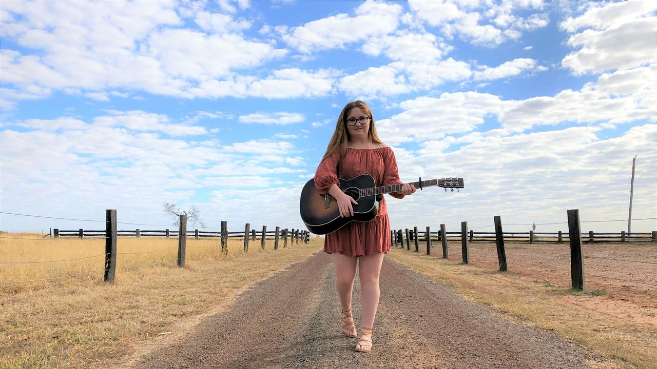 Roma's Maddy Thomas is making a name for herself in the music world, competing on The Voice Australia this year.