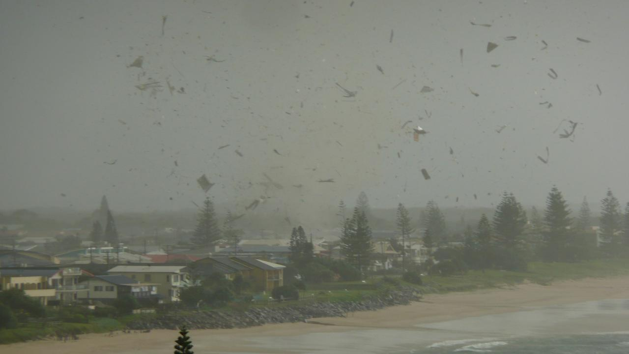 Picture of the Lennox Head Tornado. Photo / Supplied