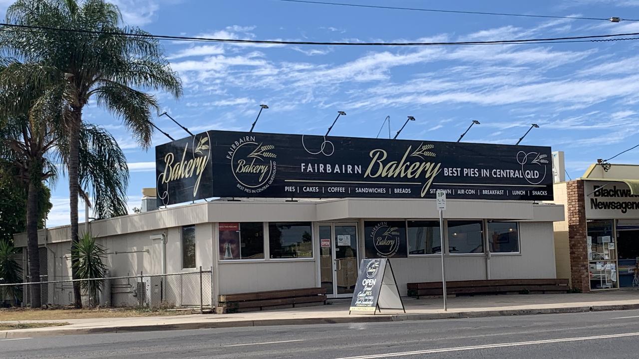 Fairbairn Bakery, Blackwater is back open for business.