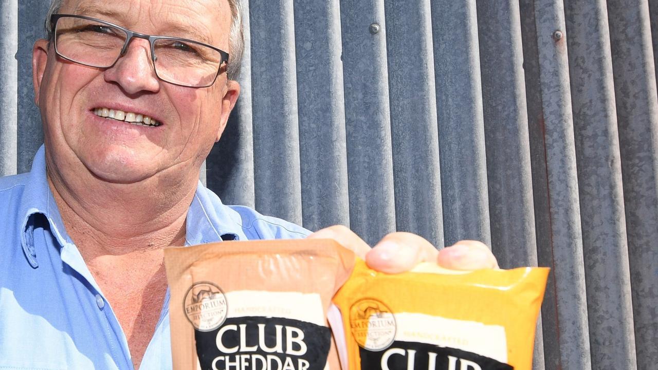 Gympie's John Cochrane, a sixth generation dairy farmer, took over Kenilworth Dairies in 2017.